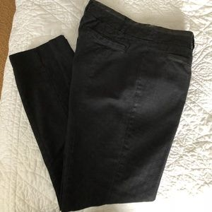 Cartonnier Charlie Ankle Black Textured Pants